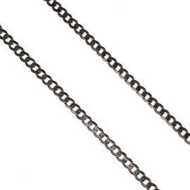 Brand New 9ct White Gold Curb Chain