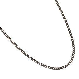 Brand New 9ct White Gold Fine Curb Chain