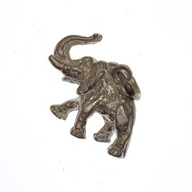 New Handmade Sterling Silver Elephant Charm