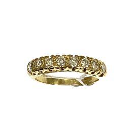 Pre-loved 18ct Gold Diamond Half Eternity Ring
