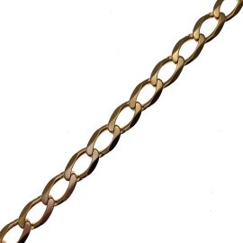 Pre Owned 9ct Gold Curb Bracelet