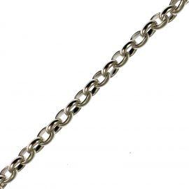 Heavy Sterling Silver Belcher Bracelet