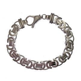 New Silver Byzantine Bracelet