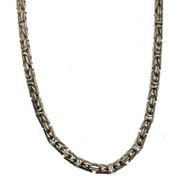Pre-Loved Heavy Silver Byzantine Chain