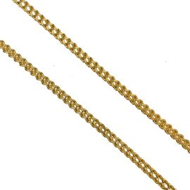 New Solid 9ct Gold Franco Chain