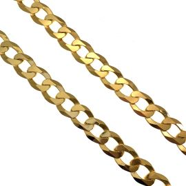 New 9ct Gold Cuban Chain
