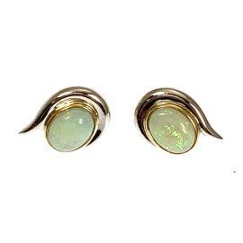 Pre-loved 18ct Gold Opal Stud Earrings