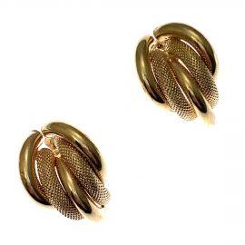 Pre-Owned 9ct Gold Fancy Ladies Stud Earrings