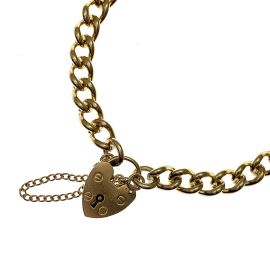 Pre-owned 9ct Gold Charm Bracelet