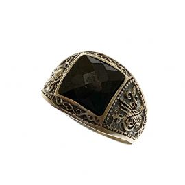 New Sterling Silver Gothic Ring