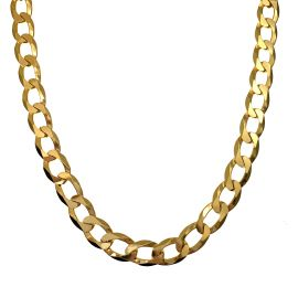 New 9ct Gold Mens Curb Chain