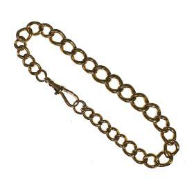 Vintage Pre-Owned 9ct Gold Albert Bracelet