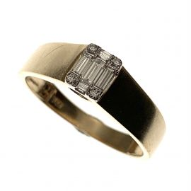 Pre-Loved 14ct Gold Diamond Ring