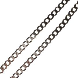 Silver Curb Chain