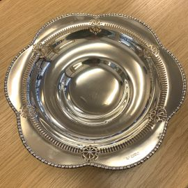 Pre-Owned Solid Silver Fruit Bowl