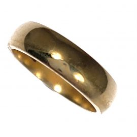 Pre-Loved 9ct Gold Wedding Band - Size J