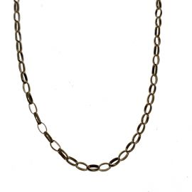 Second Hand 9ct Gold Oval Belcher Chain