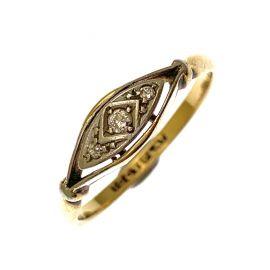 Pre-Loved Vintage 18ct & Platinum Diamond Ring