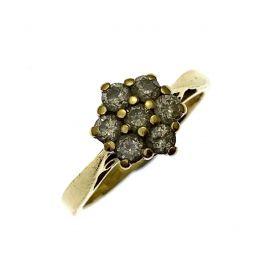 Second Hand 18ct Gold Diamond Ring