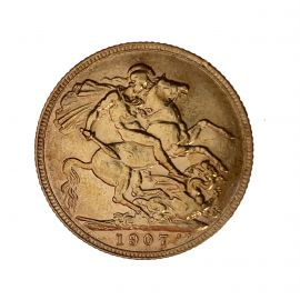 1907 Edward VII Full Sovereign Coin