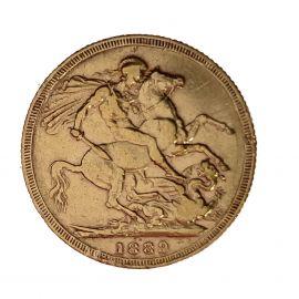 1889 Queen Victoria Full Sovereign