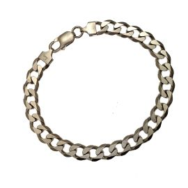 Pre-Owned Silver Curb Bracelet