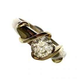 Pre-Loved Sterling Silver Ladies CZ Ring