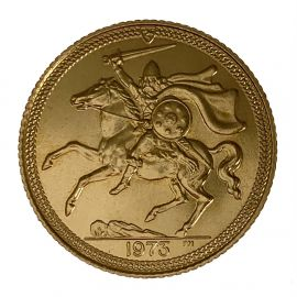 Pre-Loved 22ct Gold Full Sovereign - 1973 Queen Elizabeth
