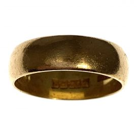 Second Hand 22ct Gold Wedding Ring