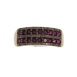 Pre-Owned 9ct Gold Ruby Ring