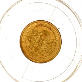 World's Smallest Coin Collection 14ct Gold Queen Elizabeth II