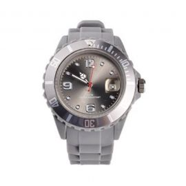 Grey Silicone Watch